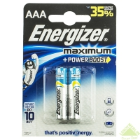Элемент питания Energizer Maximum AAA LR03 2 шт